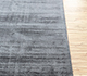 Jaipur Rugs - Hand Loom Viscose Grey and Black PHPV-20 Area Rug Cornershot - RUG1091273