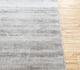 Jaipur Rugs - Hand Loom Viscose Grey and Black PHPV-20 Area Rug Cornershot - RUG1091275