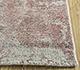 Jaipur Rugs - Hand Loom Wool and Bamboo Silk Pink and Purple PHWB-24 Area Rug Cornershot - RUG1098442