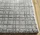 Jaipur Rugs - Hand Loom Wool and Tensilk Grey and Black PHWT-02 Area Rug Cornershot - RUG1098232