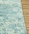 Jaipur Rugs - Hand Loom Wool and Viscose Green PHWV-80 Area Rug Cornershot - RUG1084144