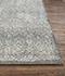 Jaipur Rugs - Hand Knotted Wool Grey and Black PKWL-5112 Area Rug Cornershot - RUG1103276