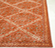 Jaipur Rugs - Hand Knotted Wool Red and Orange PKWL-8006 Area Rug Cornershot - RUG1063635
