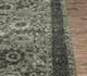 Jaipur Rugs - Hand Knotted Wool and Silk Grey and Black PKWS-455 Area Rug Cornershot - RUG1073389