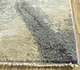 Jaipur Rugs - Hand Knotted Wool and Silk Grey and Black PKWS-483 Area Rug Cornershot - RUG1110914
