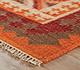 Jaipur Rugs - Flat Weaves Wool Red and Orange PX-2097 Area Rug Cornershot - RUG1038769