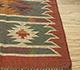 Jaipur Rugs - Flat Weave Jute Red and Orange PX-2109 Area Rug Cornershot - RUG1091586