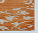 Jaipur Rugs - Hand Knotted Wool and Viscose Red and Orange PX-2139 Area Rug Cornershot - RUG1040863