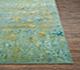 Jaipur Rugs - Hand Knotted Wool and Silk Blue QM-159 Area Rug Cornershot - RUG1076912