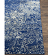 Jaipur Rugs - Hand Knotted Wool and Silk Blue QM-958 Area Rug Cornershot - RUG1061886