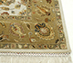 Jaipur Rugs - Hand Knotted Wool and Silk Ivory QNQ-03 Area Rug Cornershot - RUG1034463