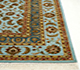 Jaipur Rugs - Hand Knotted Wool and Silk Blue QNQ-06 Area Rug Cornershot - RUG1055607
