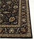 Jaipur Rugs - Hand Knotted Wool and Silk Beige and Brown QNQ-10(CM-01) Area Rug Cornershot - RUG1068689