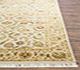 Jaipur Rugs - Hand Knotted Wool and Silk Beige and Brown QNQ-21 Area Rug Cornershot - RUG1023332