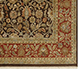 Jaipur Rugs - Hand Knotted Wool and Silk Red and Orange QNQ-24 Area Rug Cornershot - RUG1018337