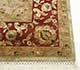 Jaipur Rugs - Hand Knotted Wool and Silk Beige and Brown QNQ-27 Area Rug Cornershot - RUG1023364