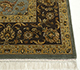Jaipur Rugs - Hand Knotted Wool and Silk Green QNQ-44 Area Rug Cornershot - RUG1058881