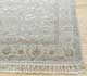 Jaipur Rugs - Hand Knotted Wool and Silk Grey and Black QNQ-44 Area Rug Cornershot - RUG1040477