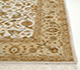 Jaipur Rugs - Hand Knotted Wool and Silk Ivory QNQ-44 Area Rug Cornershot - RUG1050247