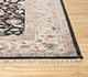 Jaipur Rugs - Hand Knotted Wool and Silk Blue QNQ-44 Area Rug Cornershot - RUG1080016