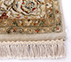 Jaipur Rugs - Hand Knotted Wool and Silk Ivory QNQ-49 Area Rug Cornershot - RUG1070957