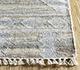 Jaipur Rugs - Flat Weave Wool and Viscose Grey and Black SDWV-01 Area Rug Cornershot - RUG1100266