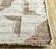 Jaipur Rugs - Flat Weave Wool and Viscose Beige and Brown SDWV-03 Area Rug Cornershot - RUG1100268