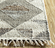 Jaipur Rugs - Flat Weaves Wool and Viscose Beige and Brown SDWV-05 Area Rug Cornershot - RUG1099835