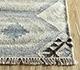Jaipur Rugs - Flat Weave Wool and Viscose Beige and Brown SDWV-101 Area Rug Cornershot - RUG1100275