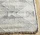 Jaipur Rugs - Flat Weaves Wool and Viscose Beige and Brown SDWV-108 Area Rug Cornershot - RUG1099821