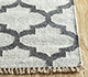 Jaipur Rugs - Flat Weave Wool and Viscose Ivory SDWV-11 Area Rug Cornershot - RUG1100281