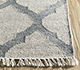 Jaipur Rugs - Flat Weave Wool and Viscose Beige and Brown SDWV-11 Area Rug Cornershot - RUG1100284