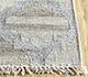 Jaipur Rugs - Flat Weave Wool and Viscose Beige and Brown SDWV-11 Area Rug Cornershot - RUG1100285