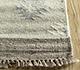 Jaipur Rugs - Flat Weave Wool and Viscose Beige and Brown SDWV-112 Area Rug Cornershot - RUG1100288
