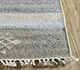 Jaipur Rugs - Flat Weave Wool and Viscose Ivory SDWV-114 Area Rug Cornershot - RUG1099781