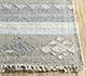 Jaipur Rugs - Flat Weave Wool and Viscose Blue SDWV-114 Area Rug Cornershot - RUG1099782