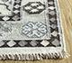 Jaipur Rugs - Flat Weave Wool and Viscose Beige and Brown SDWV-115 Area Rug Cornershot - RUG1099783