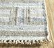Jaipur Rugs - Flat Weave Wool and Viscose Beige and Brown SDWV-125 Area Rug Cornershot - RUG1100290