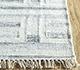 Jaipur Rugs - Flat Weave Wool and Viscose Ivory SDWV-125 Area Rug Cornershot - RUG1099815