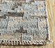 Jaipur Rugs - Flat Weave Wool and Viscose Beige and Brown SDWV-128 Area Rug Cornershot - RUG1100294