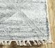Jaipur Rugs - Flat Weave Wool and Viscose Ivory SDWV-134 Area Rug Cornershot - RUG1100297