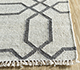 Jaipur Rugs - Flat Weave Wool and Viscose Ivory SDWV-139 Area Rug Cornershot - RUG1100299