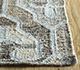 Jaipur Rugs - Flat Weave Wool and Viscose Beige and Brown SDWV-143 Area Rug Cornershot - RUG1100303