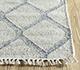 Jaipur Rugs - Flat Weave Wool and Viscose Ivory SDWV-15 Area Rug Cornershot - RUG1100307