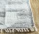 Jaipur Rugs - Flat Weave Wool and Viscose Blue SDWV-151 Area Rug Cornershot - RUG1100309