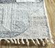 Jaipur Rugs - Flat Weave Wool and Viscose Ivory SDWV-151 Area Rug Cornershot - RUG1100310