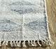 Jaipur Rugs - Flat Weave Wool and Viscose Blue SDWV-152 Area Rug Cornershot - RUG1100311