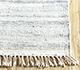 Jaipur Rugs - Flat Weave Wool and Viscose Ivory SDWV-159 Area Rug Cornershot - RUG1099897