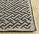 Jaipur Rugs - Flat Weave Wool and Viscose Beige and Brown SDWV-167 Area Rug Cornershot - RUG1099851