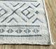 Jaipur Rugs - Flat Weave Wool and Viscose Beige and Brown SDWV-169 Area Rug Cornershot - RUG1099832